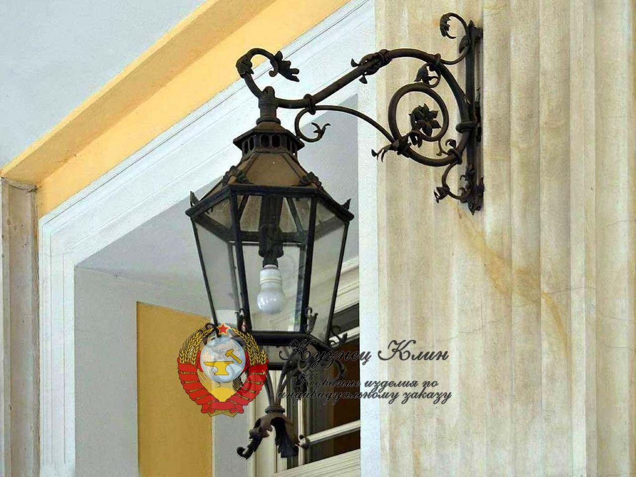 Кованые модульные фонари и светильники