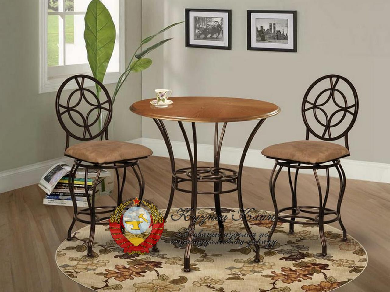 Кованые комплекты мебели