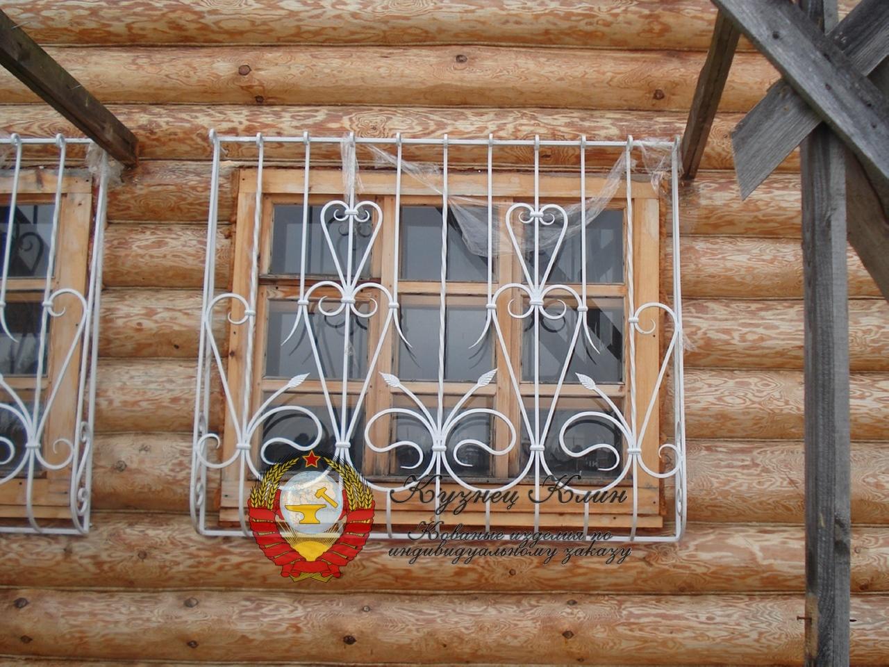 Кованые решетки для дома