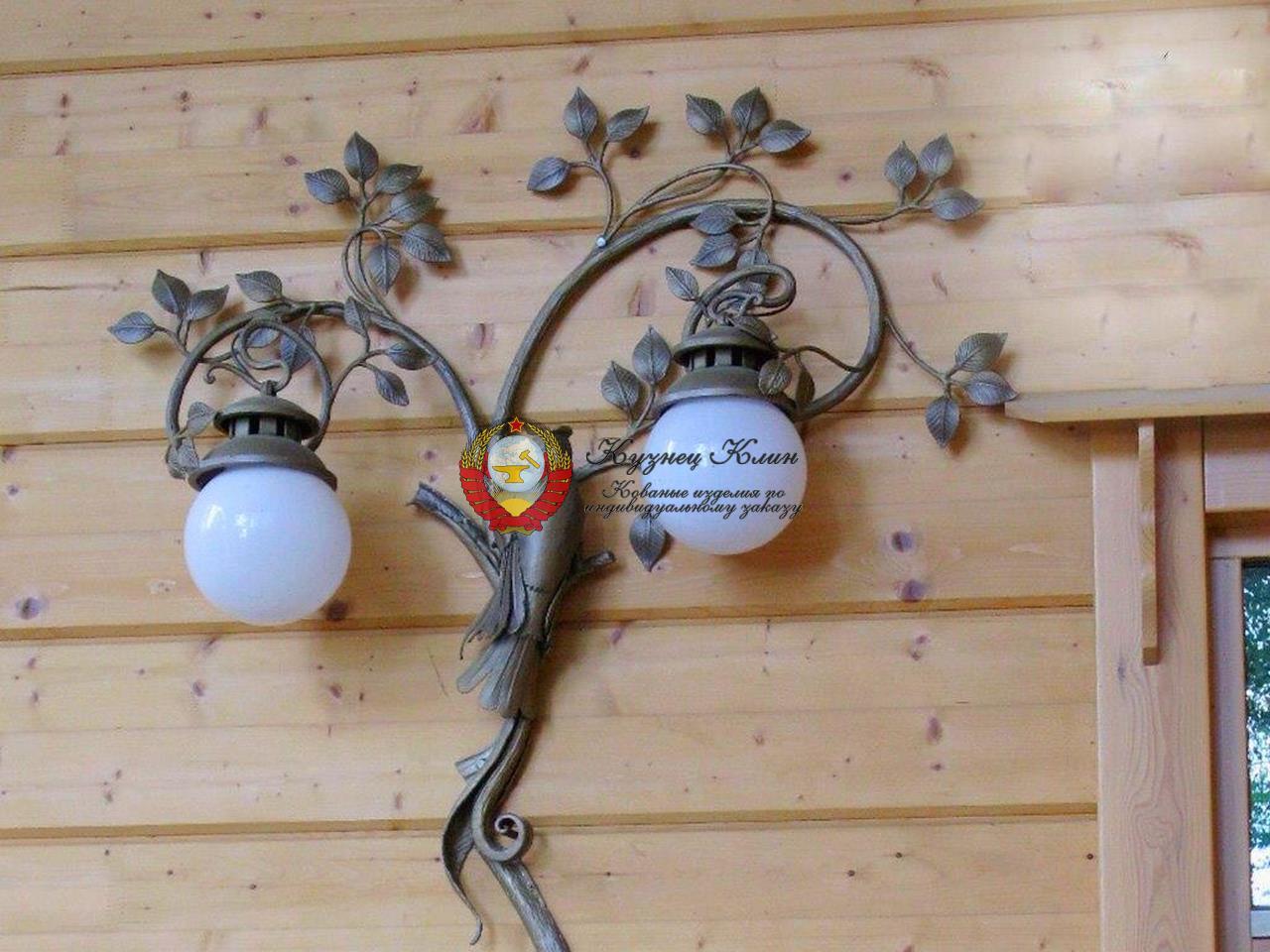 Ковка для сада и освещение
