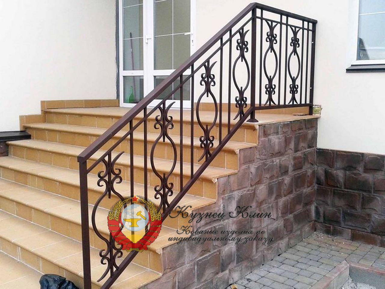 Перила для лестницы простые варианты