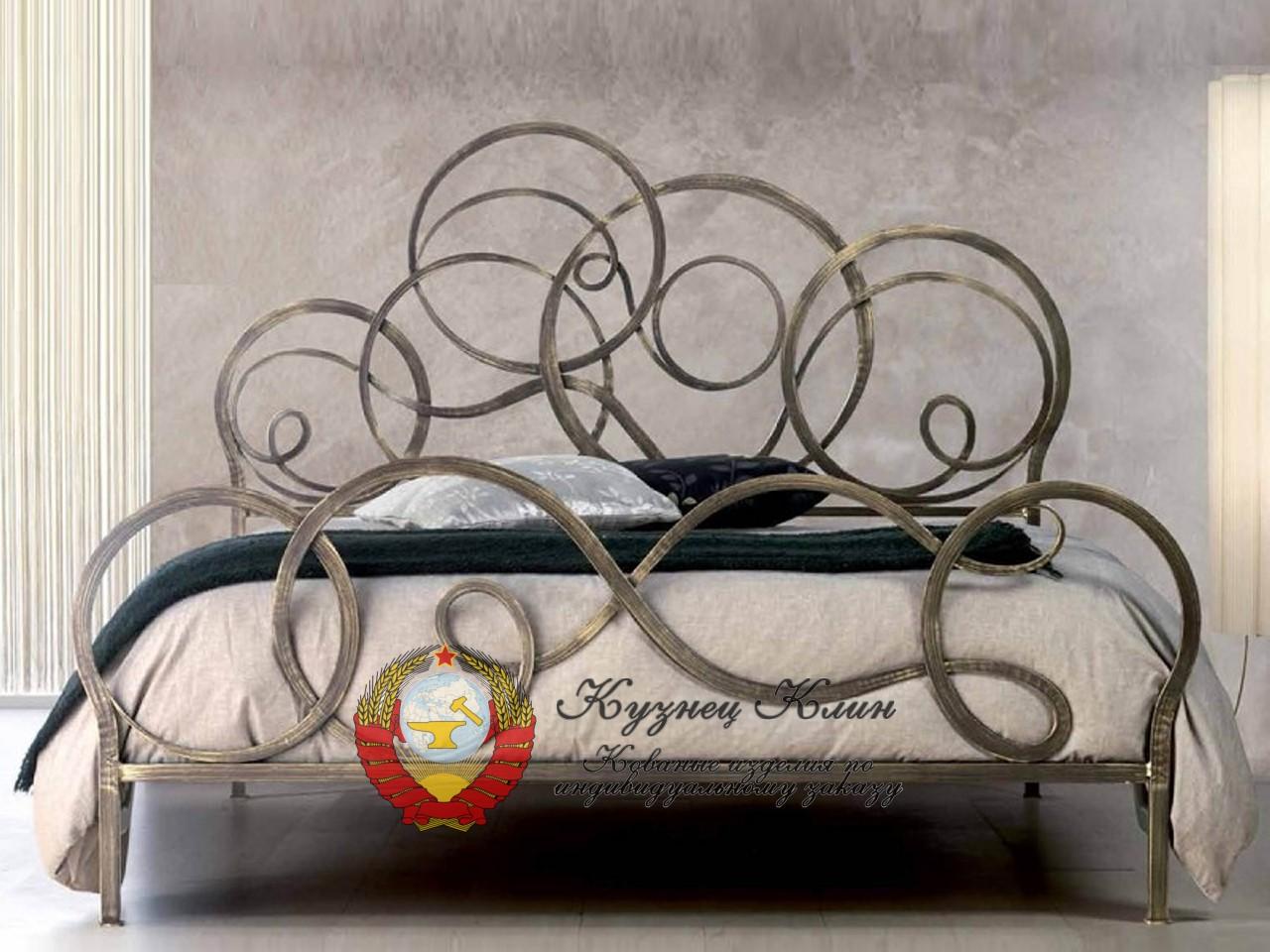Модели кованых кроватей